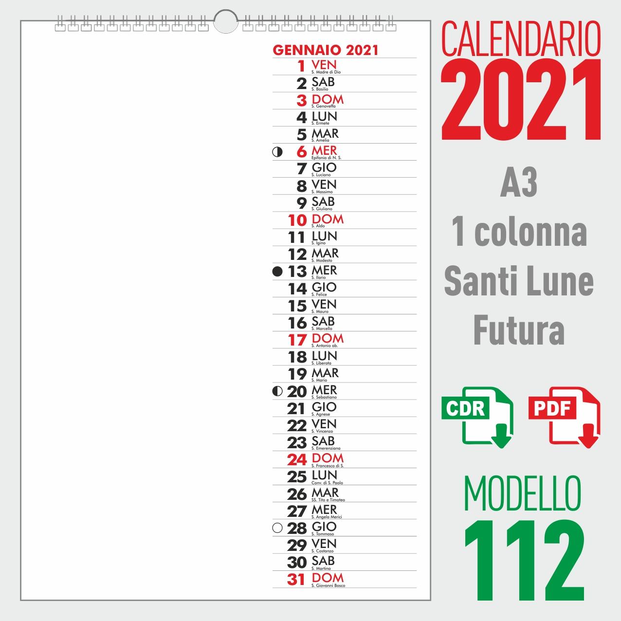 Calendario 2021 Santi e Lune – Calendario 2022 santi e lune